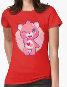 Love-a-lot bear Womens Fitted T-Shirt