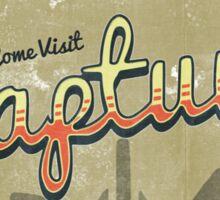 Come Visit Rapture! Sticker