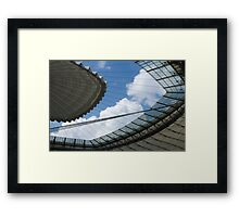 Open up the skies Framed Print