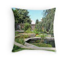 Chicago Botanic Gardens 1 Throw Pillow