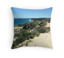 Head of Bight  Nullarbor Plain  Peter Throw Pillow