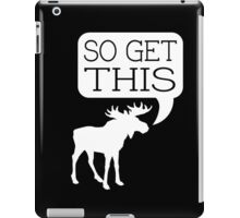 So Get This v2 iPad Case/Skin