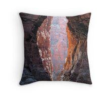 Knox Gorge Karijini NP WA - Peter Throw Pillow