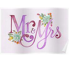 Mrs & Mrs Poster