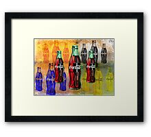 Coke - Coca Cola - Pop Art Framed Print