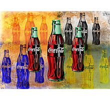 Coke - Coca Cola - Pop Art Photographic Print