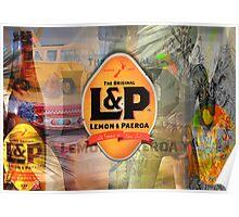 Lemon and Paeroa - L&P Poster
