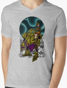 Lucca and Robo, shirt Mens V-Neck T-Shirt