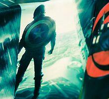 Captain America  by Pantho Sadik