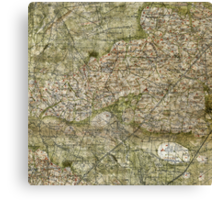 All you need is a map Canvas Print