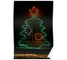 franklin road christmas tree - greeting card Poster