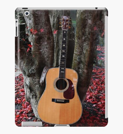 Martin Under The Red Maple iPad Case/Skin