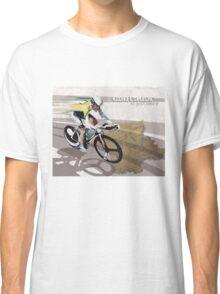 retro cycling poster Contador El Pistolero Classic T-Shirt