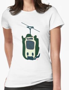 Melbourne Tram Womens Fitted T-Shirt