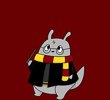 Harry Potter Totoro (Gryffindor) by charsheee