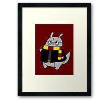 Harry Potter Totoro (Gryffindor) Framed Print