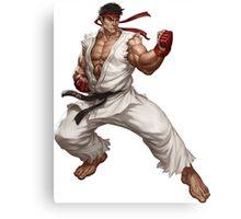 Street fighter-Ryu t shirt  Canvas Print
