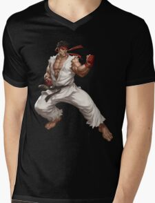 Street fighter-Ryu t shirt  Mens V-Neck T-Shirt