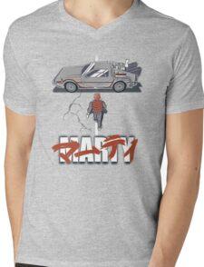 Marty 2015 Mens V-Neck T-Shirt