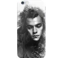 Through the glass. Black&white iPhone Case/Skin