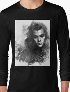 Through the glass. Black&white Long Sleeve T-Shirt