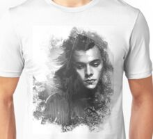 Through the glass. Black&white Unisex T-Shirt