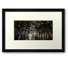 Can't See The City For The Trees Framed Print