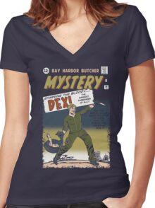 Butcher Mistery Women's Fitted V-Neck T-Shirt