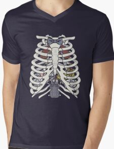 Doctor Inside Mens V-Neck T-Shirt