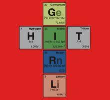 HITGIRL - Periodic Elements Scramble! Kids Clothes