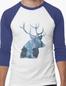 Deer Cannibal Men's Baseball ¾ T-Shirt