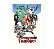 Adventure Time-Lord 11  Art Print
