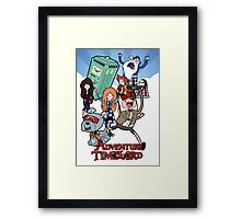 Adventure Time-Lord 11  Framed Print