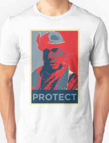 Fallout 4 - Minutemen Preston Garvey PROTECT Unisex T-Shirt