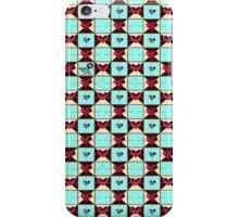 choco blue hearts  iPhone Case/Skin