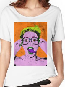Miley Warhol Women's Relaxed Fit T-Shirt