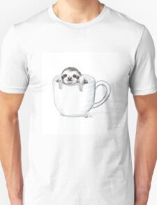 Sloth in a Cup Unisex T-Shirt