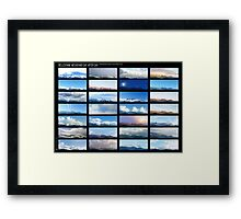 Belledonne day after day, a motionless voyage in Alps Framed Print