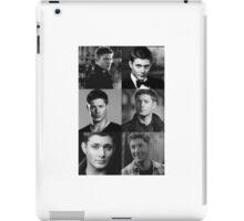 Dean Winchester Profile Edit iPad Case/Skin