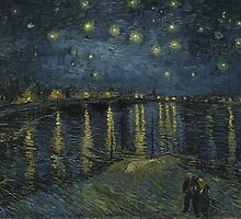 Vincent Van Gogh - Starry Night, 1888 by famousartworks