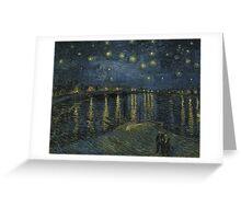 Vincent Van Gogh - Starry Night, Impressionism .Starry Night, 1888 Greeting Card