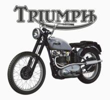 Triumph TR5 Trophy 1949 (The Fonz) by Tony  Newland