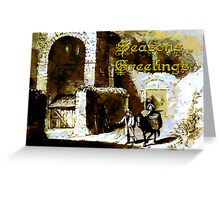 Rougemont Castle Christmas card Greeting Card