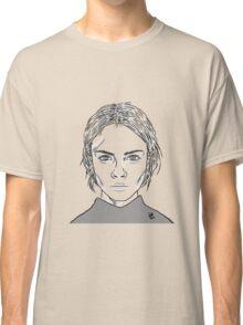 Cara Delevingne Monochrome Classic T-Shirt