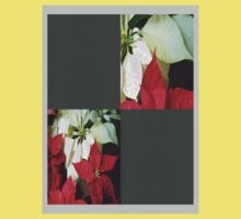 Mixed Color Poinsettias 2 Blank Q6F0 Baby Tee