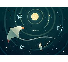 Space Ray Photographic Print