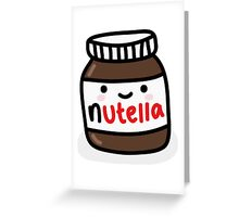 Nutella Jar Greeting Card
