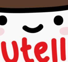 Nutella Jar Sticker