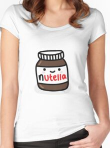 Nutella Jar Women's Fitted Scoop T-Shirt