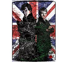 Sherlock & Watson Photographic Print